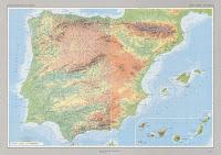 Mapa físico España descarga