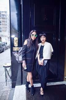 Josie Ho and Yvette Yung Paris Fashion Journey