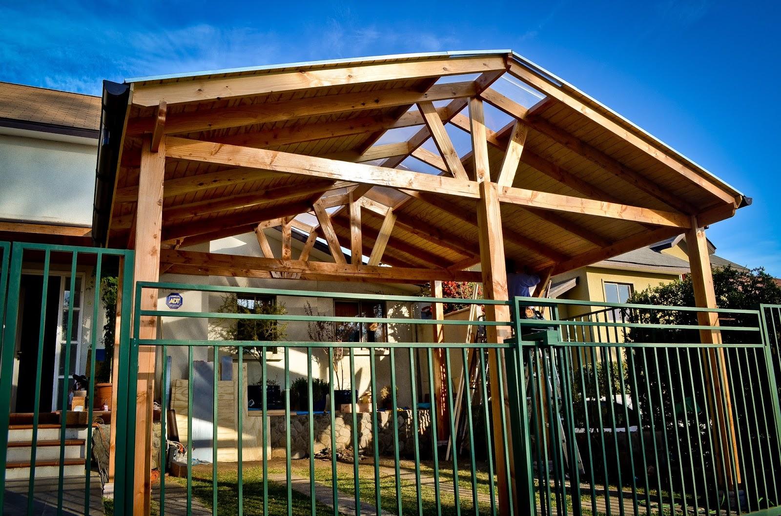Cobertizo pino oreg n policarbonato teja asf ltica for Cobertizos de madera precios