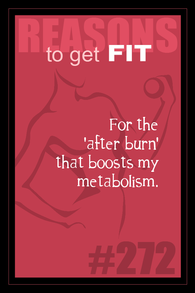 365 Reasons to Get Fit #272