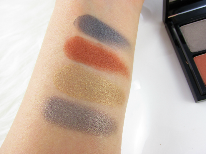 Review & Swatches: glo minerals Eye Shadow Quad Spellbound - 6.4g - € 59,50