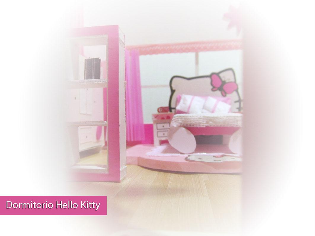 Ideativa dise o dormitorio hello kitty - Dormitorio hello kitty ...