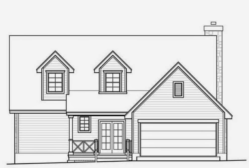 Planos de casas mayo 2014 for Planos de fachadas