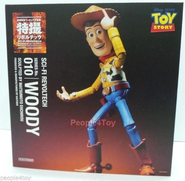 Kaiyodo Revoltech SCI FI 010 10 Disney Pixar Toy Story WOODY Action Figure