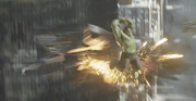 And here is the Hulk again, doing what he does bestsmashing up stuff!