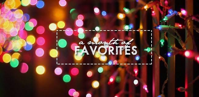 A Month of Favorites December 2014 blog event