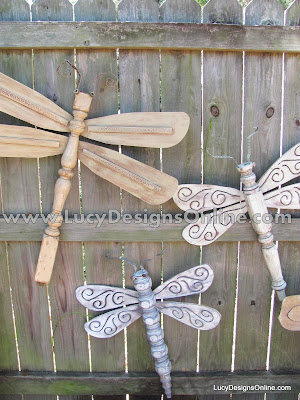 original table leg dragonflies