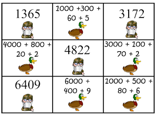 https://www.teacherspayteachers.com/Product/Duck-Dynasty-Place-Value-Concentration-Hundreds-and-Thousands-882017