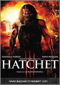 Capa Baixar Filme Terror no Pantâno 3 Dublado (Hatchet III)   Torrent Baixaki Download