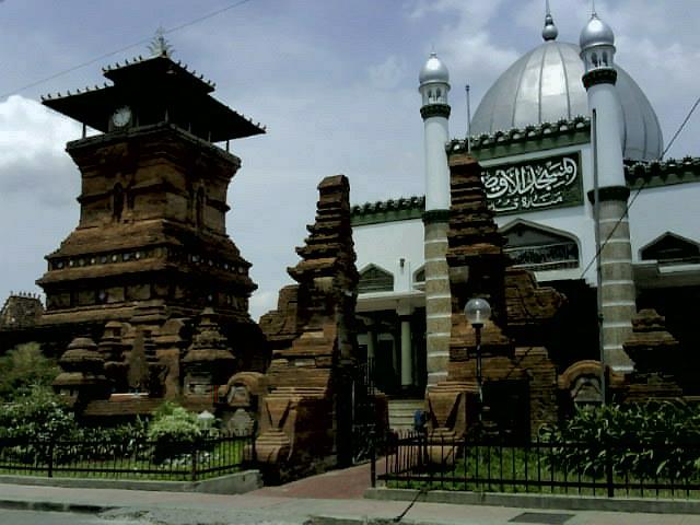 Masjid Menara Kudus, Kudus city, Central Java-Indonesia. See the Hindu