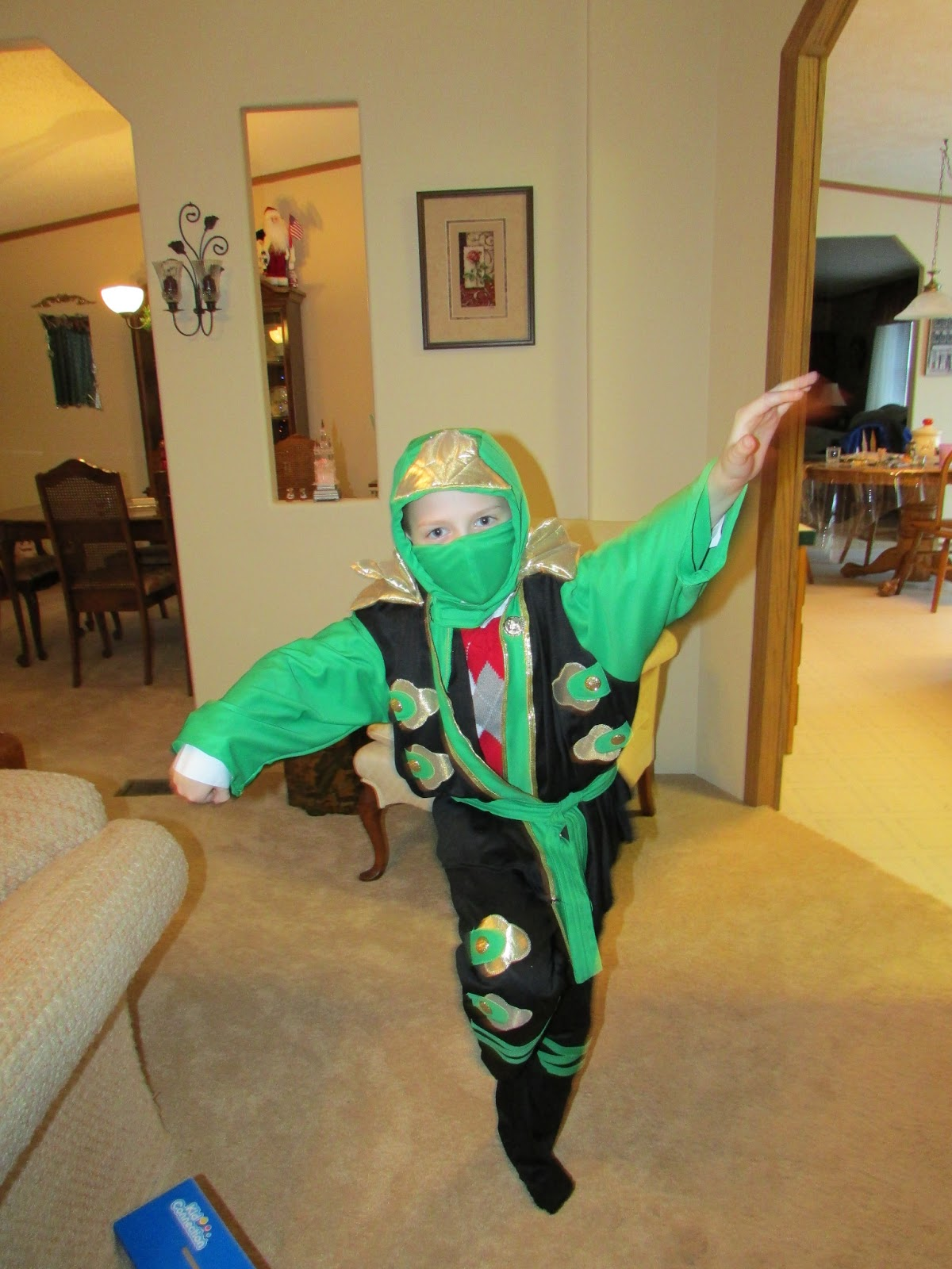 Préférence A Few Of My Favorite Things: Ninjago Lloyd Costume VY81
