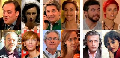 Tito Valverde, Elisa Matilla, Josema Yuste, Ana Otero, Luis Fernando Alvés, Laura Pamplona