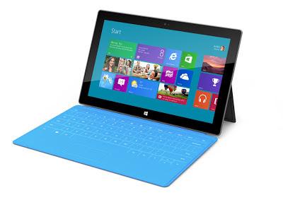 Surface, la Nueva Tablet de Microsoft