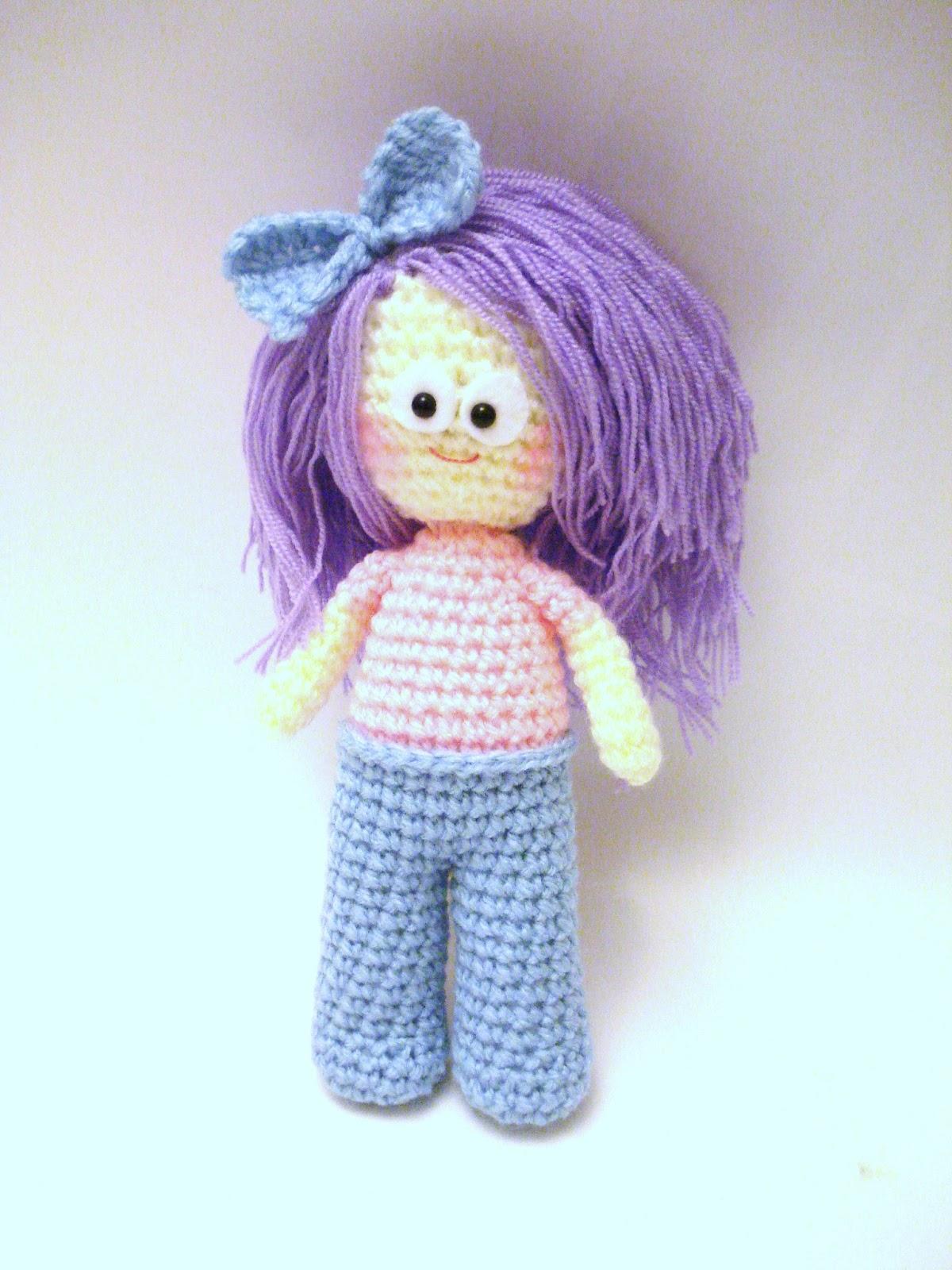 Amigurumi Girl Doll Pattern : AllSoCute Amigurumis: Crochet Girl, Doll Pattern ...