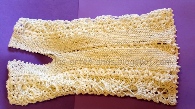 Blusa crochet verano - Puntos para calcetar ...