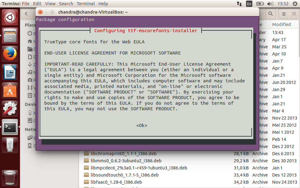 FREE! Downloads Offline Ubuntu Restricted Extras for Ubuntu 14.04 LTS