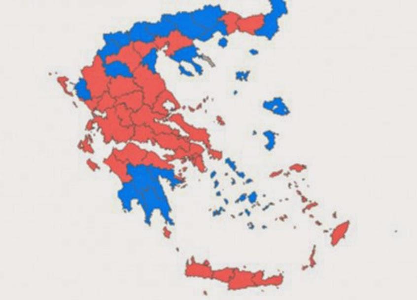 Εκλογές 2015: Ιστορική νίκη του ΣΥΡΙΖΑ αλλά θρίλερ με την αυτοδυναμία - Χάνει την τρίτη θέση το Ποτάμι!