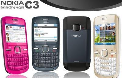 Spesifikasi Dan Harga HP Nokia C3