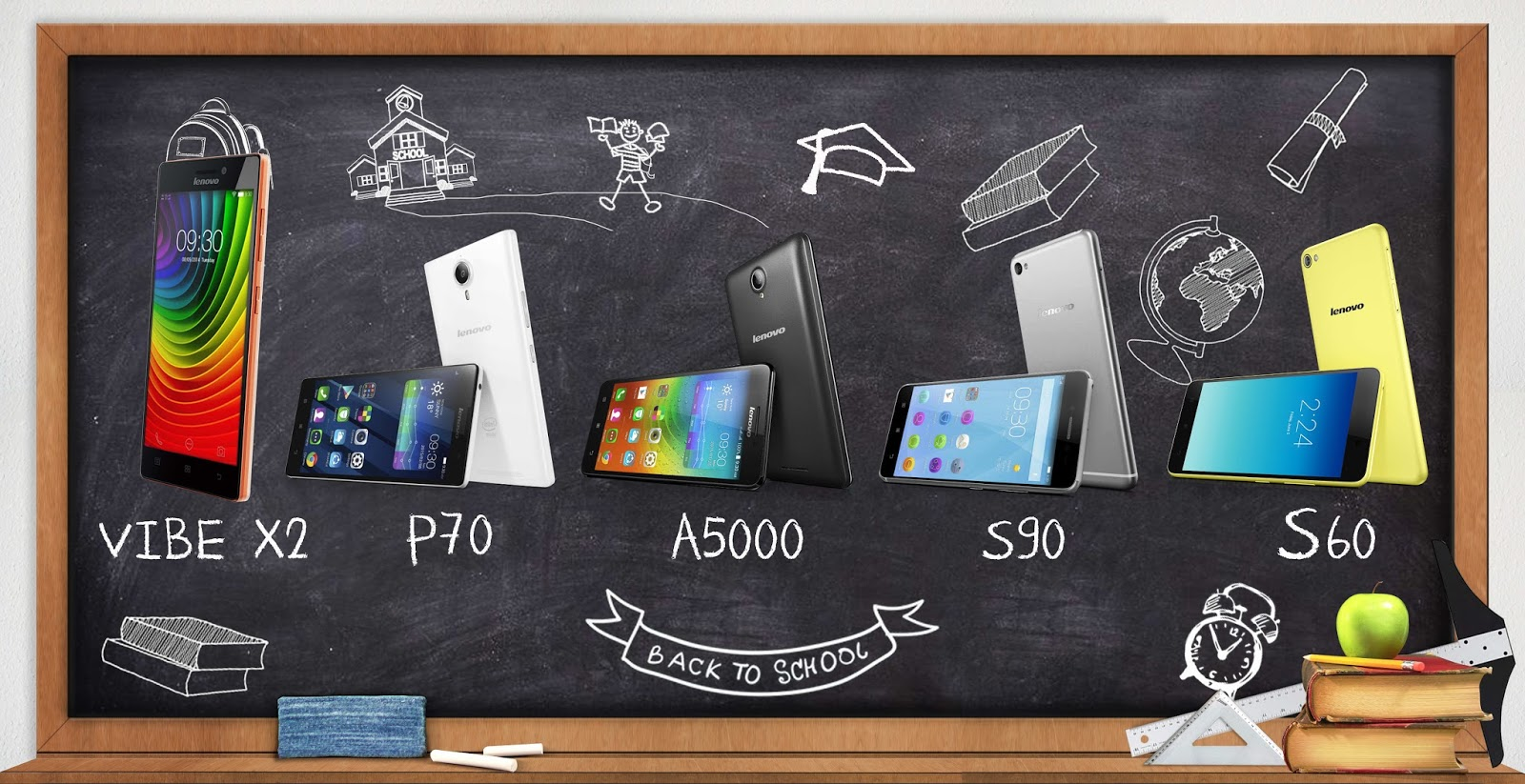 Lenovo Back to School Smartphones