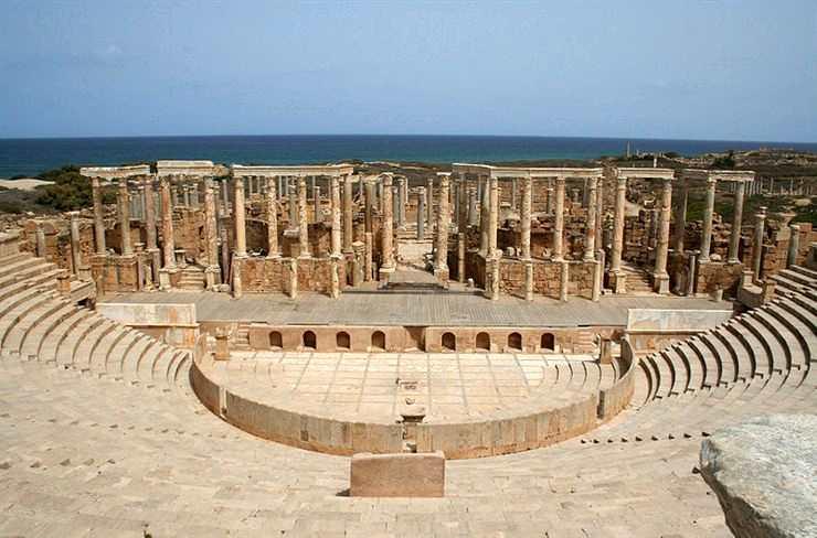 Kota Hilang Lepcis Magna