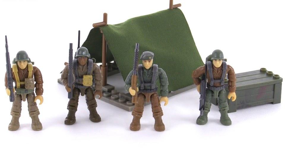 Mega Bloks Call Of Duty Legends Infantry Battalion Review