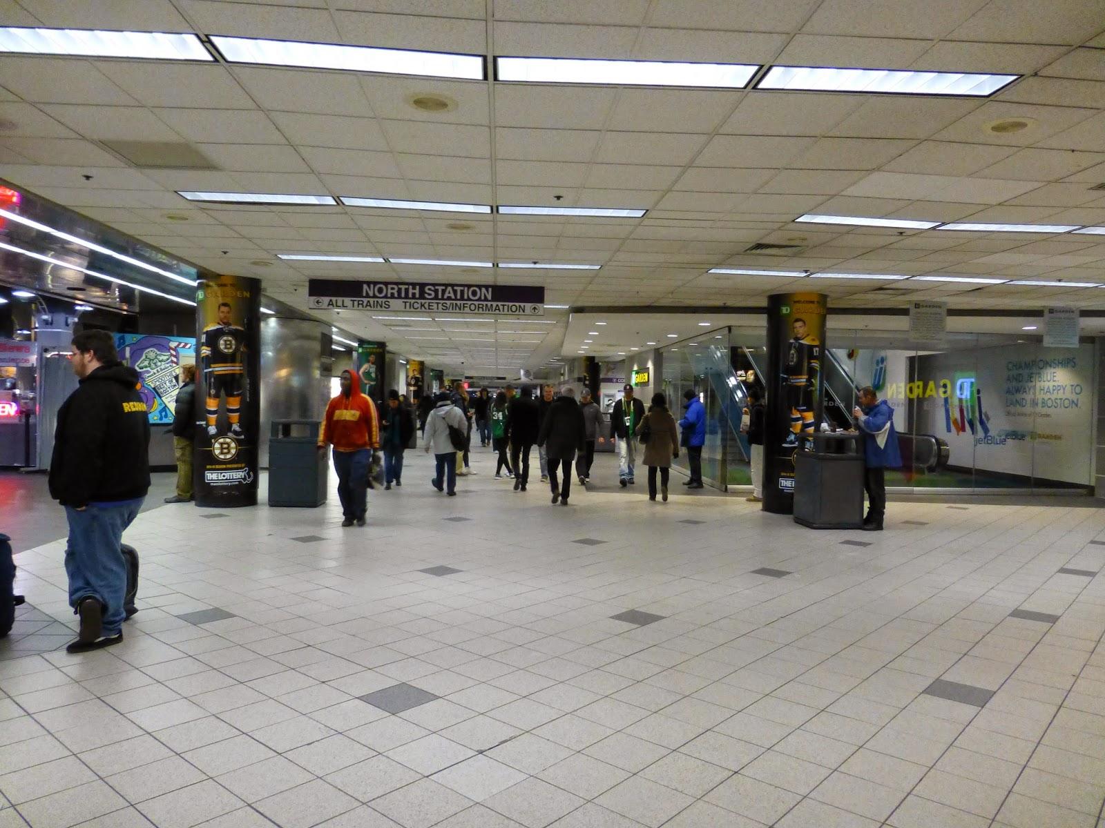 Miles On The Mbta North Station