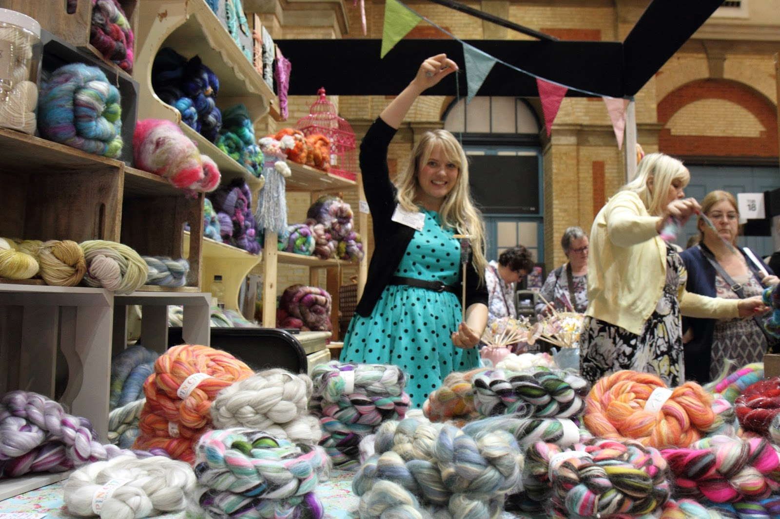 Knitting And Sewing Show Ingliston : Spin City: The Knitting and Stitching Show 2015 - My Spin City Stall and love...