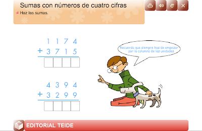 Sumas con una cifra,suma,operaciones,básicas,suma,Matemáticas