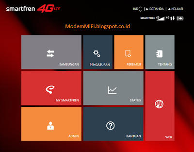Mengganti Kata Sandi Modem Wifi SmartFren 4G AndroMax M2P