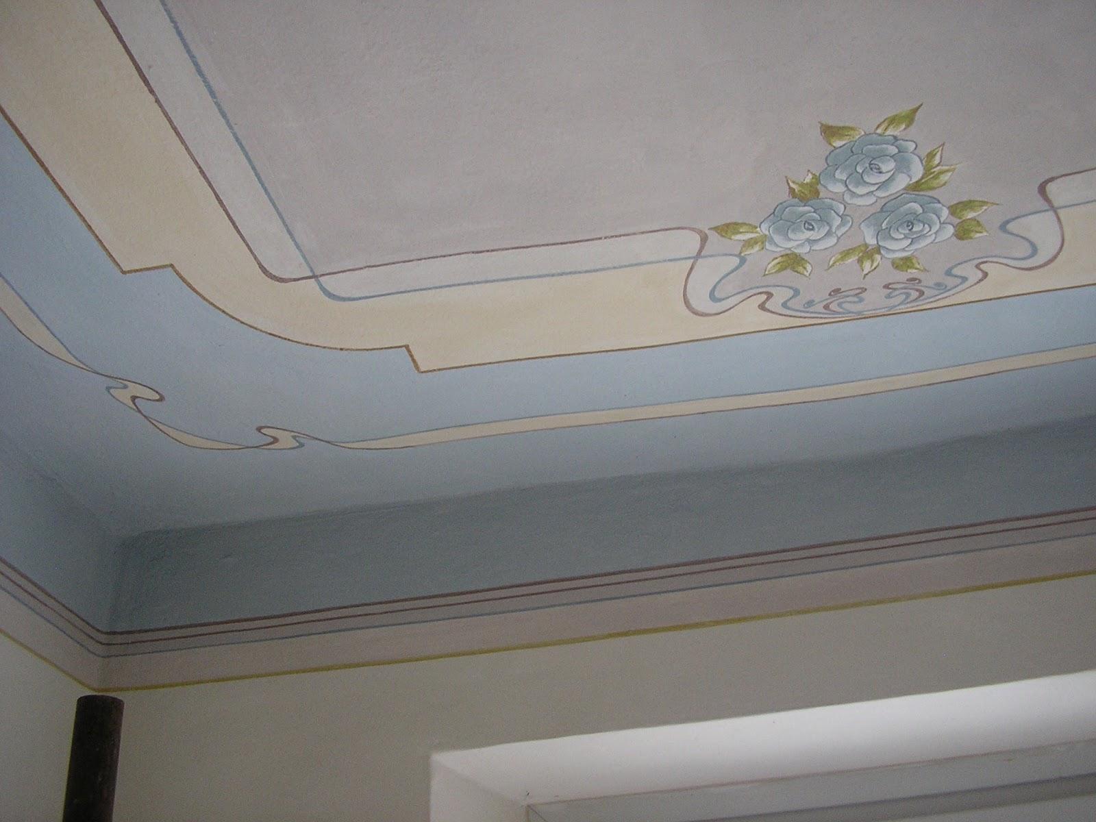 Laboratorio m 39 arte soffitti decorati - Soffitti decorati ...