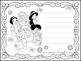 Le Nuage De Gateau D Etoiles Theme Princesse Disney A Colorier En Ligne