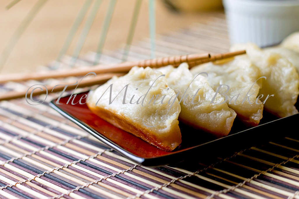 The Midnight Baker: Pot Stickers (Dim Sum or Chinese Dumplings)