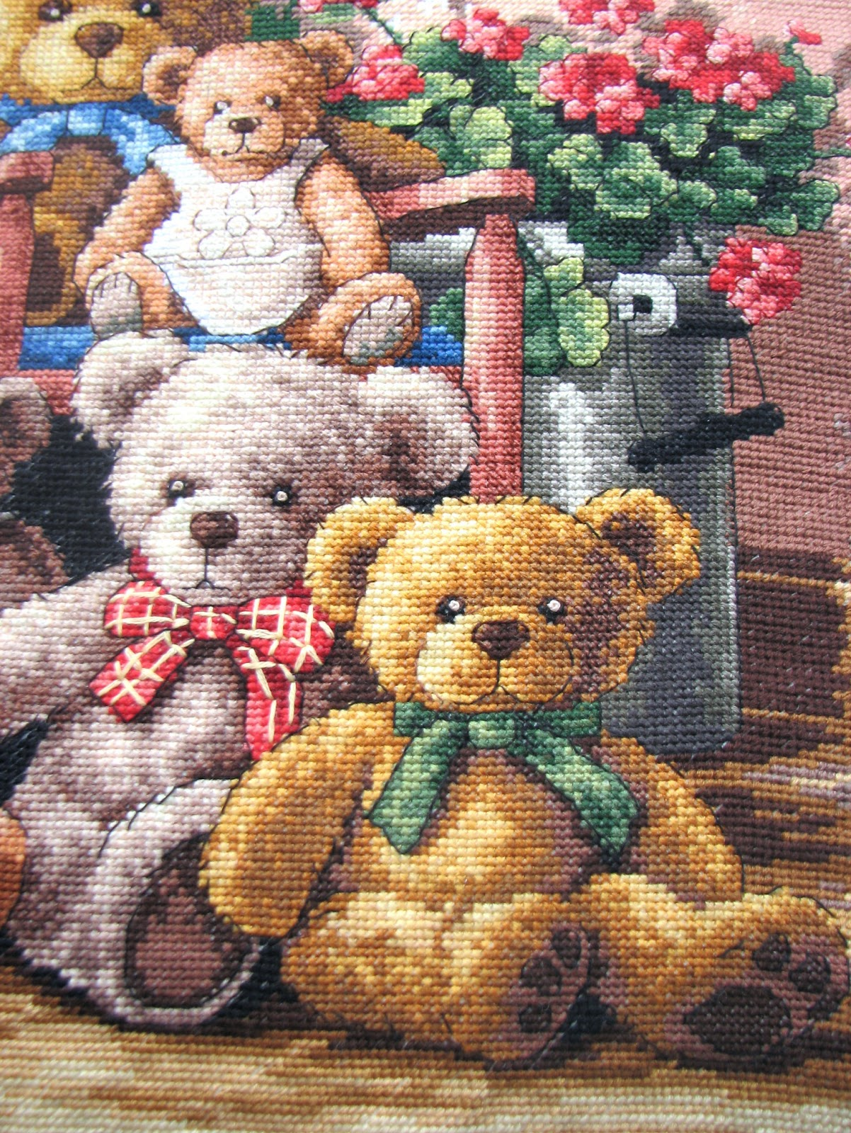 Медведи вышивка приметы 23