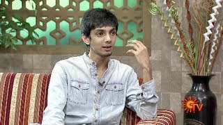 Virundhinar Pakkam -Music Director Anirudh | Sun TV Show 07-06-2013