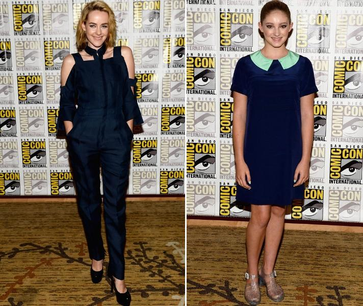 Jena Malone & Willow Shields Joined Jennifer Lawrence At &Quot;the Hunger