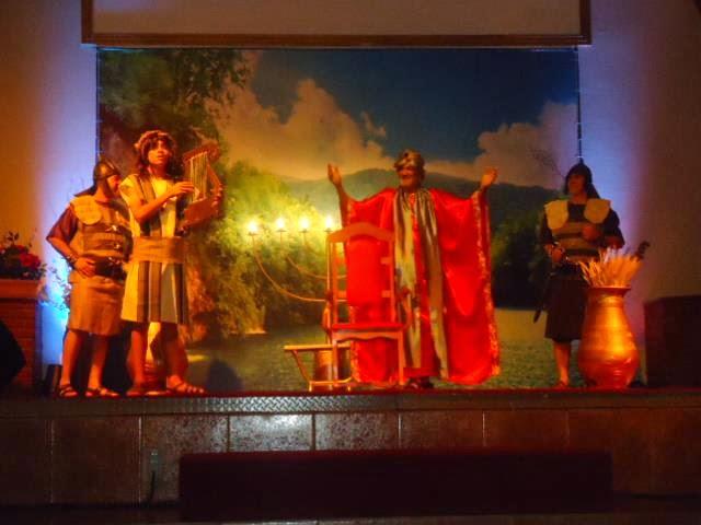 Festa dos Tabernáculos  TEATRO HOSANA