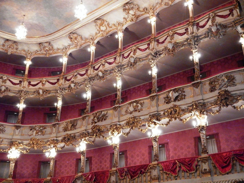 Cuvilliés Theatre Munich loges