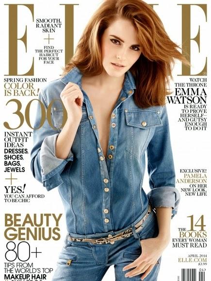 Emma Watson, Elle Magazine Photoshoot April 2014, Elle magazine, Emma Watson lastest photos, Emma Watson full bikini pic, Emma Watson biography