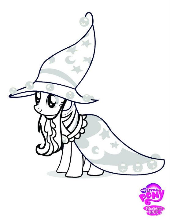 Free Coloring Pages Of Mlp Queen