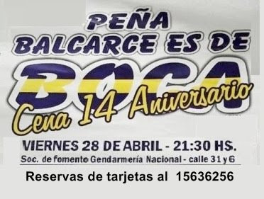 Cena Peña de Boca
