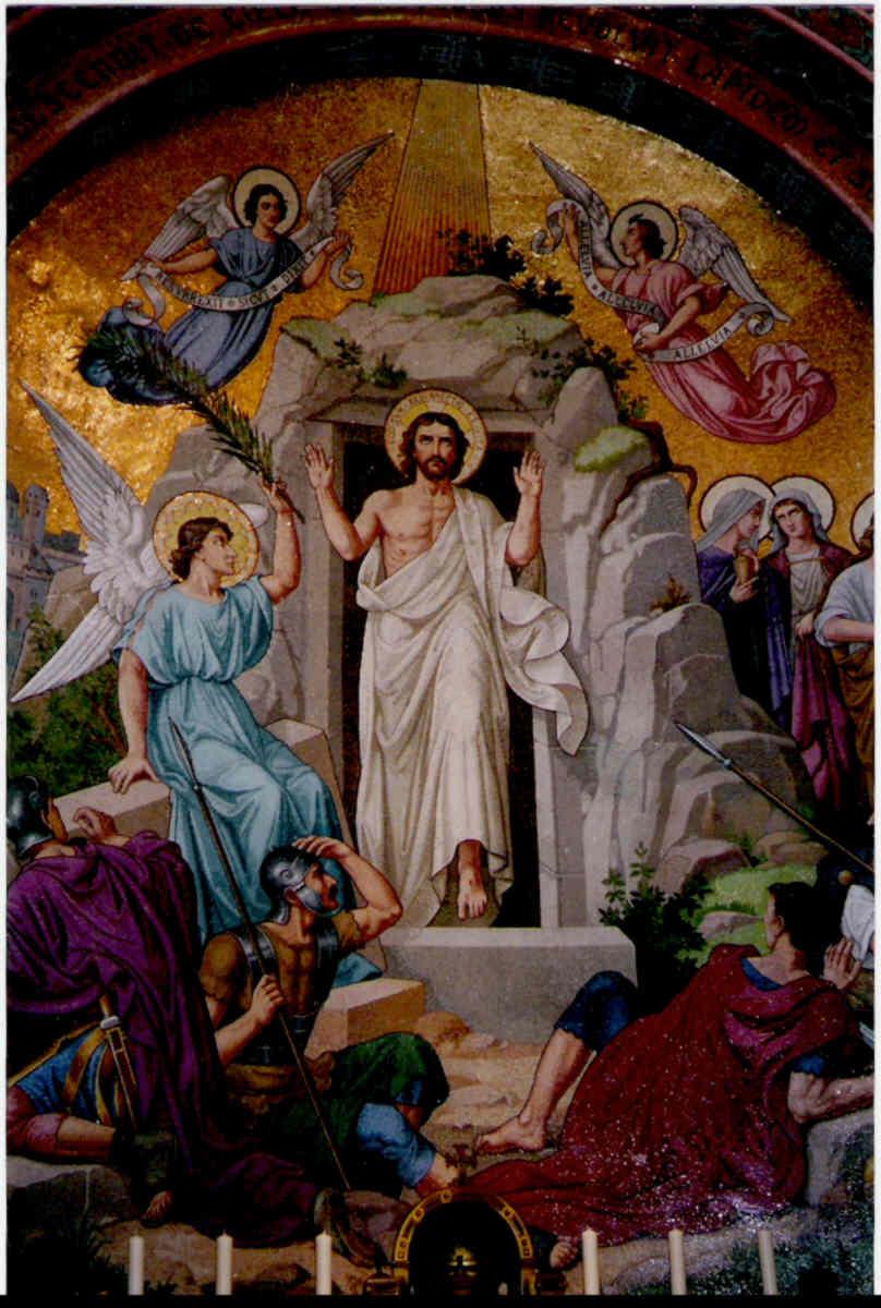 La resurrección según el evangelio de Marcos. Capítulo 16. 06.04 ...