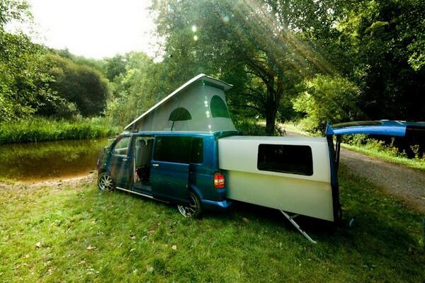 doubleback camper for volkswagen t5 transporter bonjourlife. Black Bedroom Furniture Sets. Home Design Ideas