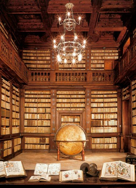 Fermo Italy  city pictures gallery : Fermo Italy Public Library Globe Room | Content in a Cottage