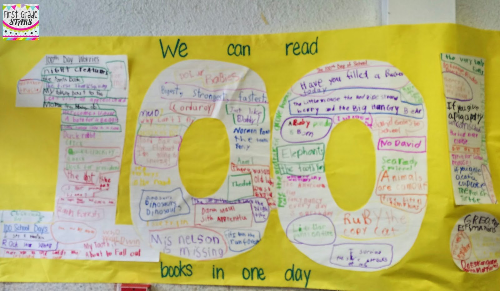 First Grade STARS: 100 Days of Happiness!