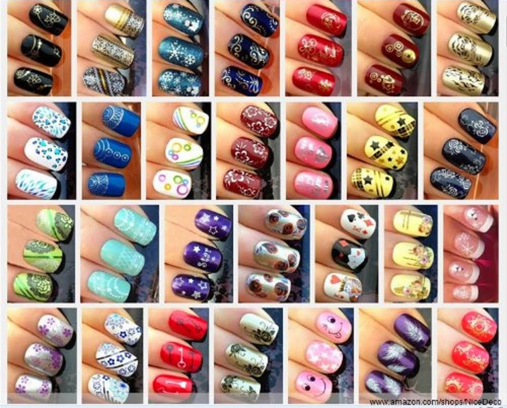 Extreme Couponing Mommy: Nail Art Stickers Water Transfer Decals ...