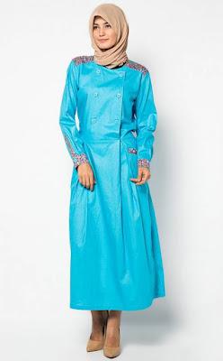 Gambar Model Baju Muslim Gamis Modern Terbaru