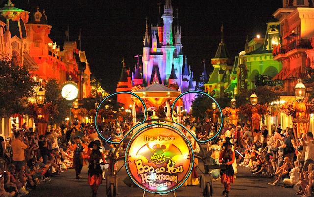 Festas de Halloween nos parques em Orlando