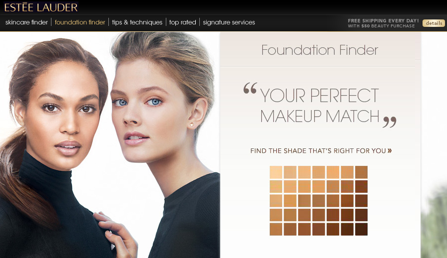 estee lauder foundation finder