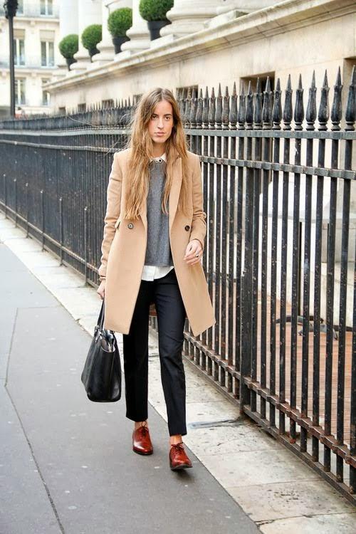 Berta Bernad Camel Coat Trend Street Style