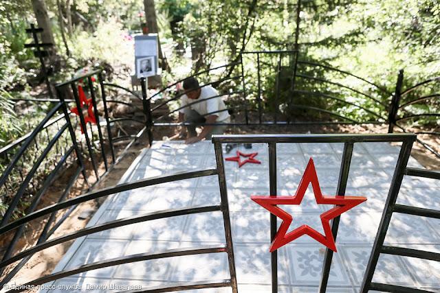 Забытую могилу Героя Советского Союза восстанавливают в Сергиевом Посаде